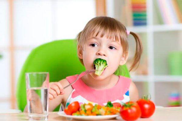 comida sana para ninos